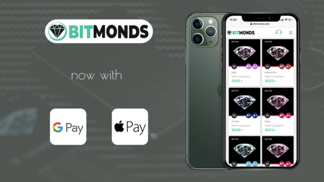 Bitmonds introduces Apple Pay and Google Pay for payments!